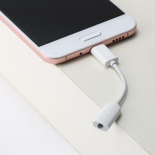 Переходник (адаптер) Xiaomi Type-C в mini Jack 3.5mm