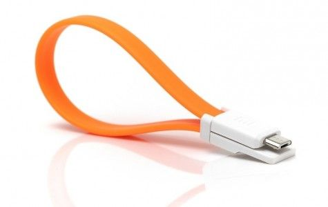 Кабель USB - microUSB  Xiaomi  Mi Colorful  20 см (Orange)
